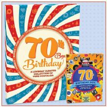 70th Birthday Box